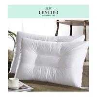 LENCIER 兰叙 可水洗纤维枕头 1只装