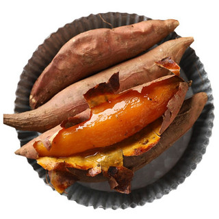 PLUS会员 : 静益乐源 西瓜红红心蜜薯  500g中果装