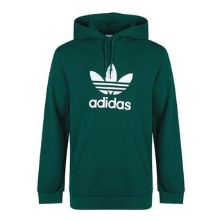 adidas ORIGINALS 新品 大logo 男款针织运动套头衫 男士卫衣男装
