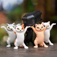 GINIX 鲸意 万物皆可举猫咪手办 3只装