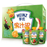 Heinz 亨氏 婴儿果汁泥礼盒装 120g *14袋