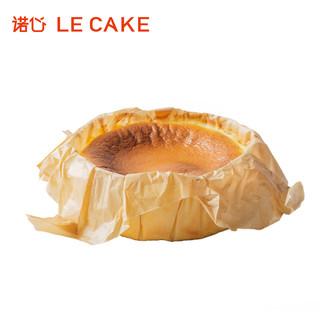LE CAKE 诺心 原味巴斯克芝士蛋糕 780g/5-8人食