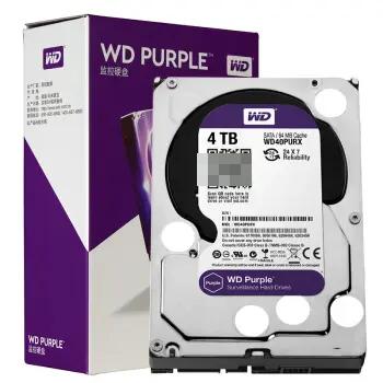 WD40PURX 机械硬盘 紫盘 4TB