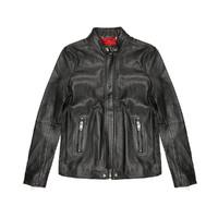 DIESEL 迪赛 00S11I0SAQS900  男式休闲机车皮衣夹克外套