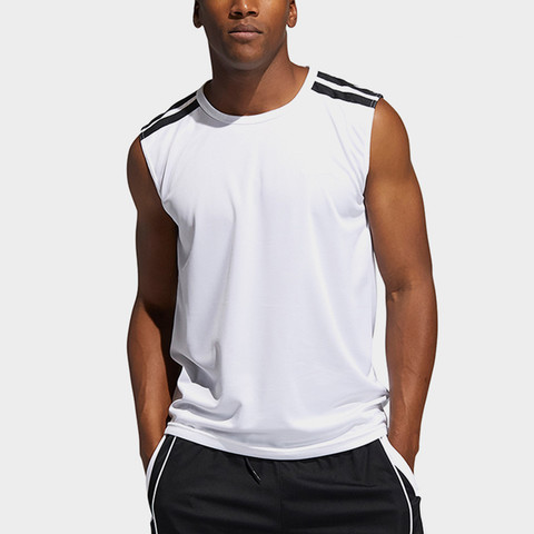 adidas 阿迪达斯 夏季新款阿迪达斯时尚百搭男款针织背心运动男装