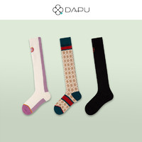 DAPU 大朴 AF0W0300109000-609667 女士过膝袜 3双装