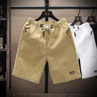 男士短裤纯棉2021夏季新品时尚潮流五分裤休闲裤子宽松工装裤