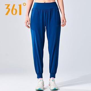 361°女裤长裤女运动裤夏季透气舒适运动长裤361度束脚裤休闲裤女