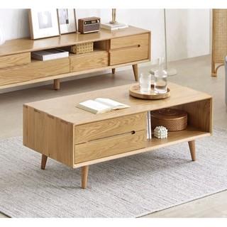 原始原素 实木茶几北欧简约现代橡木客厅家具咖啡桌特卖A1074