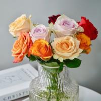 PLUS会员:远方的花 玫瑰花束 10枝