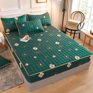梦嘉欢 加厚磨毛夹棉床笠床罩床单床垫保护套席梦思