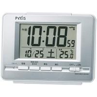 SEIKO 精工 PYXIS NR535W 液晶电波闹钟