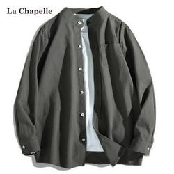 La Chapelle 拉夏贝尔 男士休闲衬衫