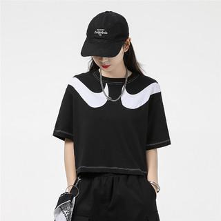 NIKE 耐克 女装2021夏季新款运动服跑步训练健身透气舒适休闲圆领短袖T恤
