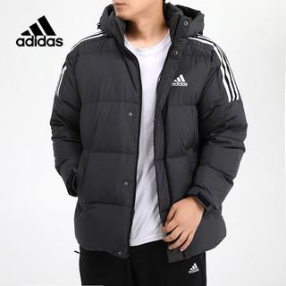 adidas 阿迪达斯 羽绒服外套男装女装2020新款保暖防风运动夹克GF0101