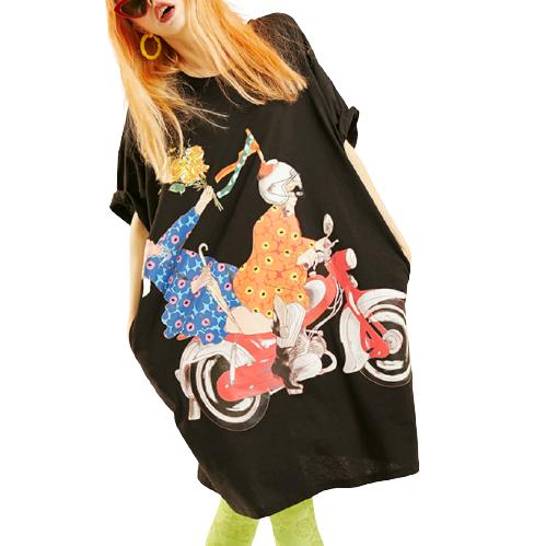 elf sack 妖精的口袋 18200181A 女士碎花连衣裙