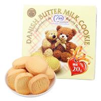 麦阿思 小熊曲奇饼干 黄油味 110g/盒