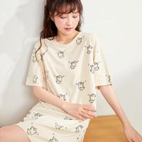 COSMO LADY 都市丽人 2H1601-2319 女士卡通印花睡裙