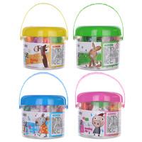 M&G 晨光 AKE04029 爱心桶装彩泥 12色 颜色随机