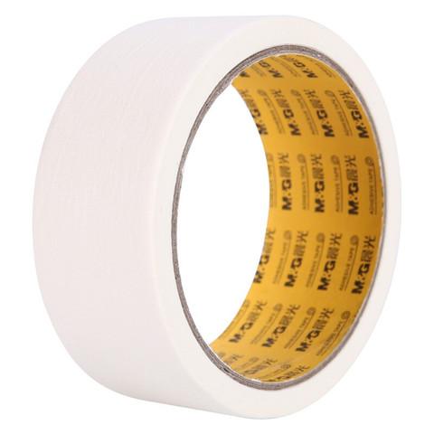 M&G 晨光 文具美纹纸胶带 装修遮蔽纸胶带 无痕纸贴膜纸36mm*20y(18.28m/卷) 单卷装AJD957Q2