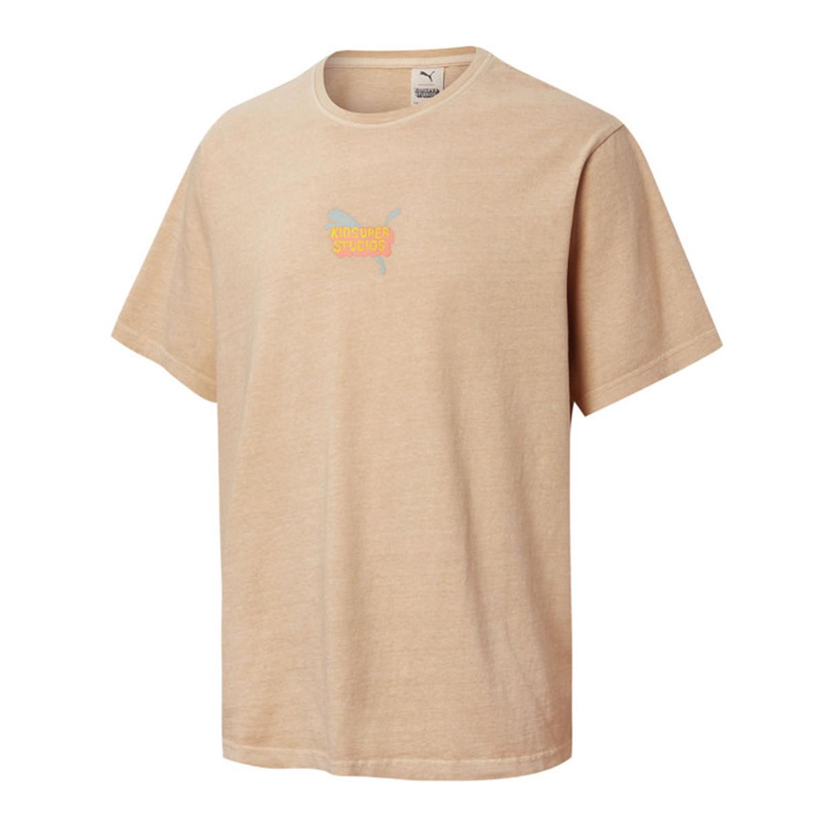 PUMA 彪马 KIDSUPER联名 59846512 男款短袖运动T恤