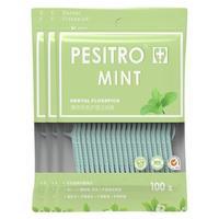 pesitro 佰仕洁 薄荷多效护理牙线棒袋装 100支*3