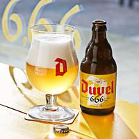 Duvel 督威 6.66度精酿啤酒 330ml*6瓶装