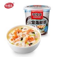 海福盛 速食粥 家常海鲜粥 38g*1杯