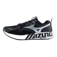 Mizuno 美津浓 PI 男子休闲运动鞋 D1GH201490 黑色/金属银 42