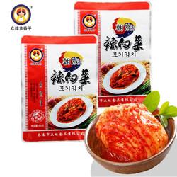 众缘金香子 辣白菜 500g*3袋