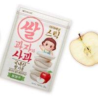 ivenet 艾唯倪 儿童米饼 苹果味 30g*3袋