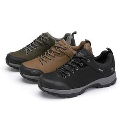 CAMEL 骆驼 户外徒步登山鞋 春秋防滑耐磨运动休闲徒步鞋 A932026705 黑色 38