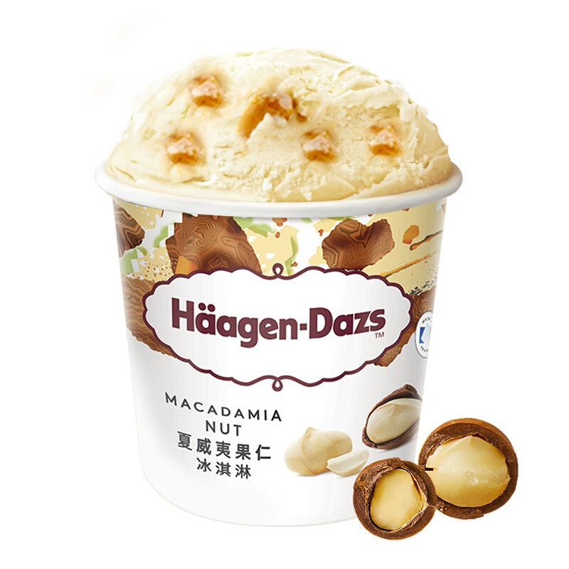 Häagen·Dazs 哈根达斯 冰淇淋 夏威夷果仁口味 471ml