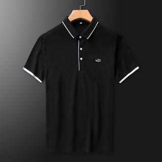 CARTELO 卡帝乐鳄鱼 男式POLO衫夏季新款纯色潮流时尚百搭纯棉翻领男士短袖T恤
