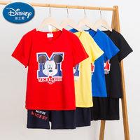 Disney 迪士尼 男童短袖套装