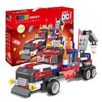 限地区:布鲁可 交通工具系列 61110 布布百变重型卡车