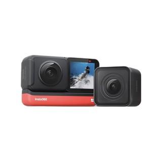 Insta360 影石 ONE R 全景5.7k超高清运动相机 Vlog拍摄+64GB SD卡+自拍杆