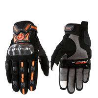SCOYCO 赛羽 MC20 碳纤透气手套-夏款 M码 橙色