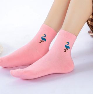Nan ji ren 南极人 女士中筒棉袜套装 10020686926244 5双装 混色