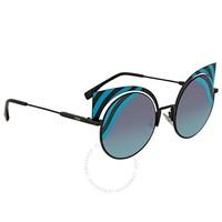 FENDI 芬迪 FF 0215/S 0LBJF 猫眼墨镜