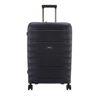 Diplomat 外交官 PP箱子拉杆箱行李箱男女密码箱登机箱万向轮旅行箱TP-2093 黑色 24英寸