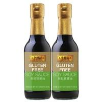 88VIP:LEE KUM KEE 李锦记 无麸质酱油 250ml*2瓶