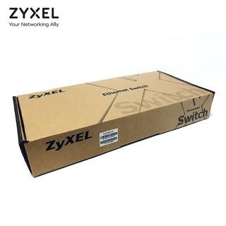 ZYXEL 合勤 ES1100-24 24口百兆交换机 即插即用 企业网络监控安防分线器 铁壳机架式