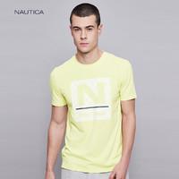 NAUTICA 诺帝卡 VC92783SL  男士印花T恤