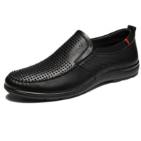 AOKANG 奥康 男士商务休闲鞋 103812009 黑色 39
