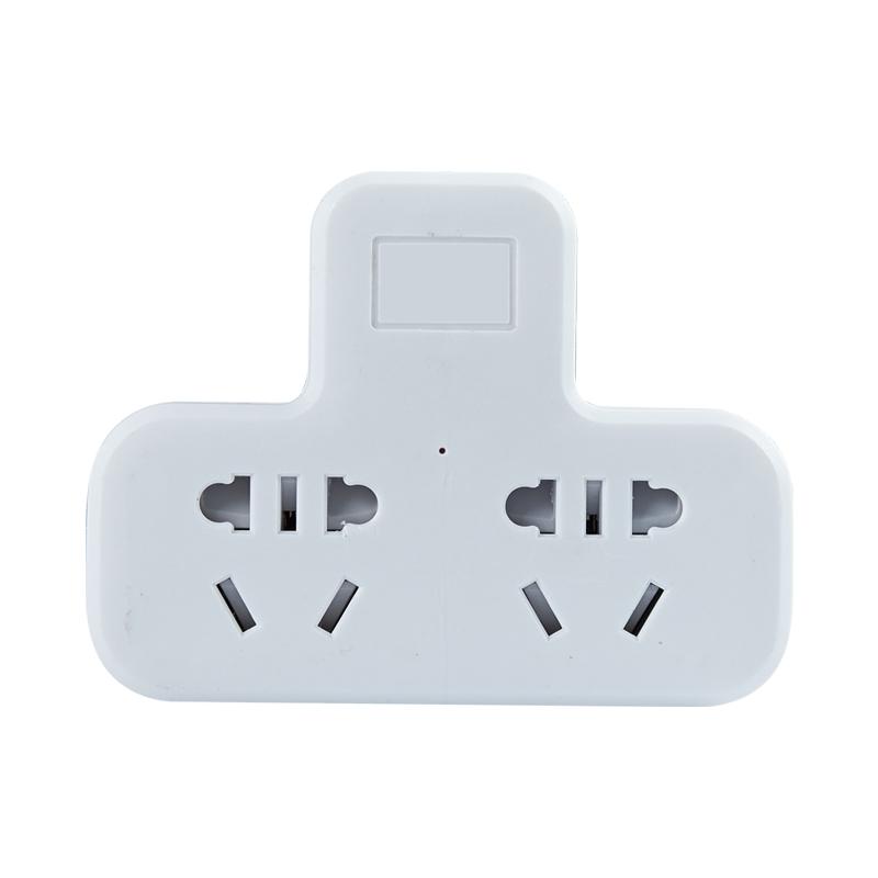 柱牛 ZND21-02 智能一转多多功能插座 二位 无开关