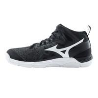 Mizuno 美津浓 Wave Super Sonic 2 Mid 中性排球鞋 V1GA204550 黑色/白色 45