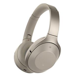 SONY 索尼 MDR-1000X 耳罩式头戴式降噪蓝牙耳机 灰米色