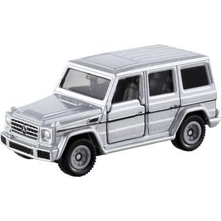 TAKARA TOMY 多美 卡仿真合金车模型玩具小汽车儿童玩具合金跑车 巴士公交警车救护车 多美新车 35号奔驰G-Class越野车 879923