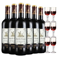 Roosar 罗莎庄园 维克多干红葡萄酒  750ml*6瓶